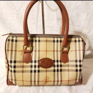 Vintage burberrys Boston bag